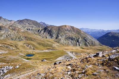 photo montagne alpes randonnée GR5 mercantour pas cavale lac agnel salso moreno