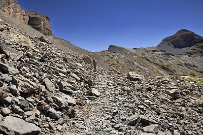 photo montagne alpes randonnée GR5 mercantour larche lauzanier pas cavale