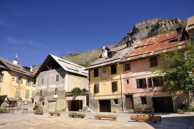 photo montagne alpes randonnée GR5 mercantour tinee saint dalmas selvage village