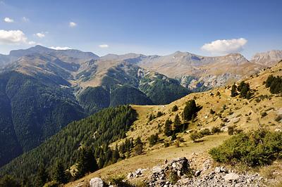 photo montagne alpes randonnée GR5 mercantour auron roya col blainon