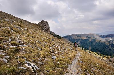 photo montagne alpes randonnée GR5 mercantour col moulines