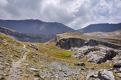 photo montagne alpes randonnée GR5 mercantour crousette