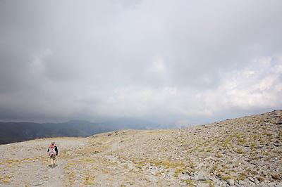 photo montagne alpes randonnée GR5 mercantour col crousette moulines