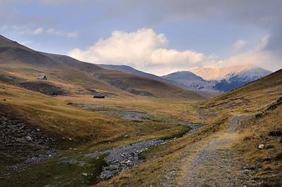 photo montagne alpes randonnée GR5 mercantour portes de longon