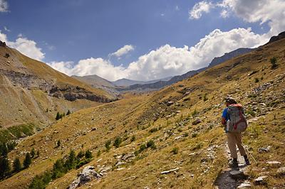 photo montagne alpes randonnée GR5 mercantour vallon sallevieille