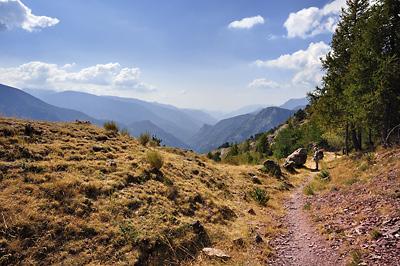 photo montagne alpes randonnée GR5 mercantour roure saint sauveur tinee