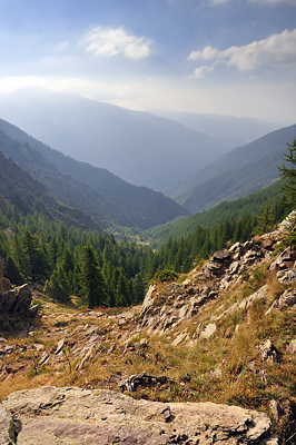 photo montagne alpes randonnée GR5 mercantour portes longon tinee
