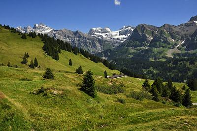photo montagne alpes randonnée GR5