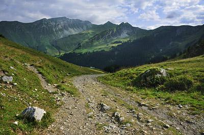 photo montagne alpes randonnée GR5 col golese