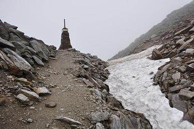 photo montagne alpes randonnée GR5 col brevent