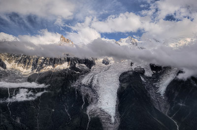 photo montagne alpes randonnée GR5 bellachat bel achat chamonix mont blanc