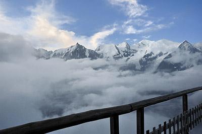photo montagne alpes randonnée GR5 mont blanc