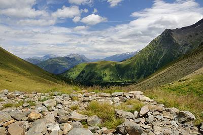photo montagne alpes randonnée GR5 col tricot