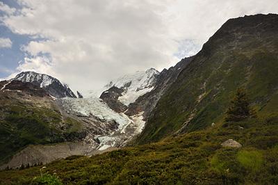 photo montagne alpes randonnée GR5 glacier bionnassay