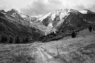 photo montagne alpes randonnée GR5 glacier miage
