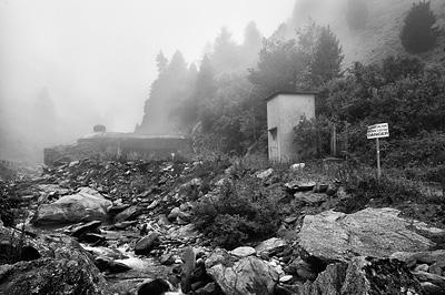 photo montagne alpes randonnée GR5 cerces blockhaus