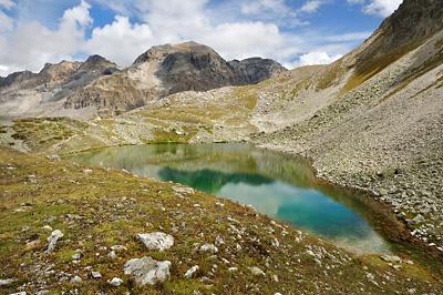 photo montagne alpes randonnée GR5 cerces lac peyron