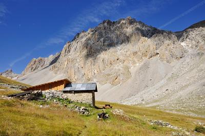 photo montagne alpes randonnée GR5 cerces vallon chalet bergerie
