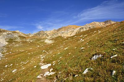 photo montagne alpes randonnée GR5 cerces mont thabor vallon chances peyron