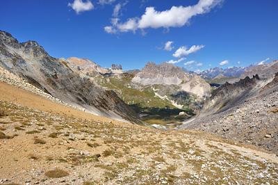 photo montagne alpes randonnée GR5 cerces col vallon
