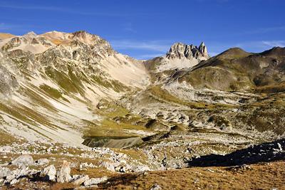 photo montagne alpes randonnée GR5 cerces mont thabor lac peyron