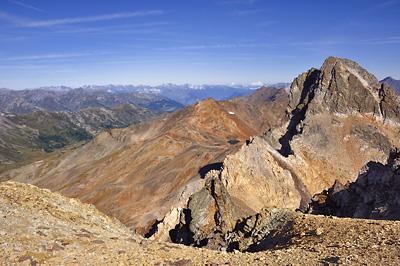 photo montagne alpes randonnée GR5 cerces mont thabor