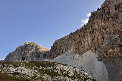 photo montagne alpes randonnée GR5 cerces chapelle saint st michel nevache