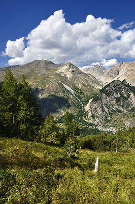 photo montagne alpes randonnée GR5 cerces vallee claree