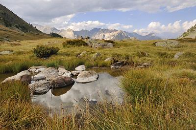 photo montagne alpes randonnée GR5 cerces lac cristol