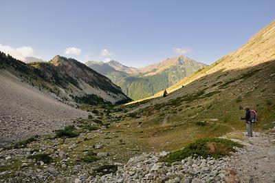 photo montagne alpes randonnée GR5 cerces vallon nevache