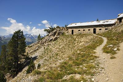 photo montagne alpes randonnée GR5 cerces briancon crete peyrolle blockhaus enrouye