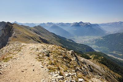 photo montagne alpes randonnée GR5 cerces briancon crete peyrolle