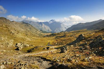 photo montagne alpes randonnée GR5 cerces nevache lac cristol
