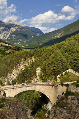 photo montagne alpes randonnée GR5 briancon pont asfeld