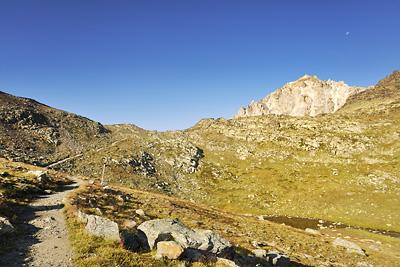 photo montagne alpes randonnée GR5 cerces nevache porte col cristol