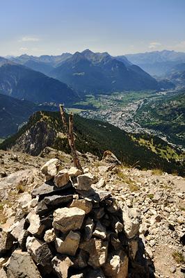 photo montagne alpes randonnée GR5 cerces briancon crete peyrolle serre aigles