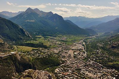 photo montagne alpes randonnée GR5 cerces briancon vue croix toulouse