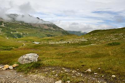 photo montagne alpes randonnée GR5 col bonhomme