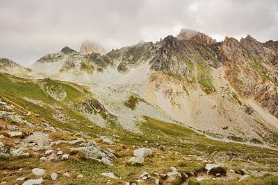 photo montagne alpes randonnée GR5 beaufortain col bresson