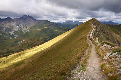 photo montagne alpes randonnée GR5 beaufortain crete gittes