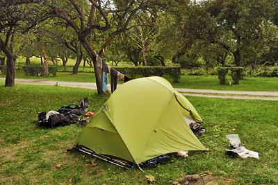 photo montagne alpes randonnée GR5 tarentaise landry camping