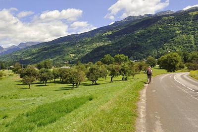 photo montagne alpes randonnée GR5 tarentaise landry