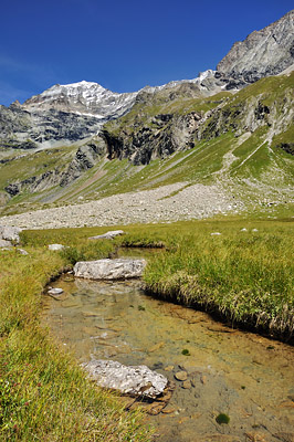 photo montagne alpes randonnée GR5 vanoise plan eaux mont pourri