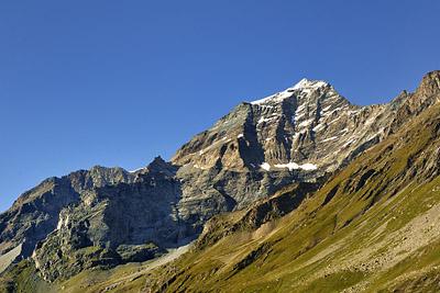 photo montagne alpes randonnée GR5 vanoise lac plagne entre le lac mont pourri