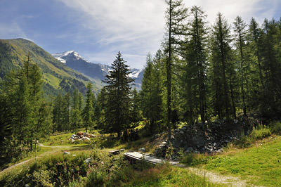 photo montagne alpes randonnée GR5 vanoise porte rosuel