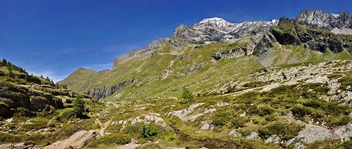 photo montagne alpes randonnée GR5 vanoise panorama mont pourri