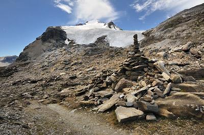 photo montagne alpes randonnée GR5 vanoise col leisse