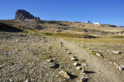 photo montagne alpes randonnée GR5 vanoise col palet