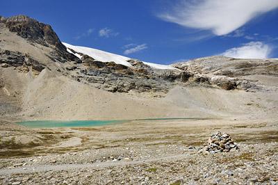 photo montagne alpes randonnée GR5 vanoise lac nettes