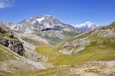 photo montagne alpes randonnée GR5 vanoise mont blanc col leisse